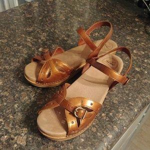 Dansko leather sandals 41